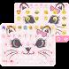Cute Cat Emoji Keyboard Theme by Keyboard themes