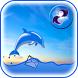 Dolphin Live Widget by The World of Digital Clocks