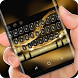 Classic Gold Luxury Silk Keyboard for Huawei by Super Hot Themes Design Studio