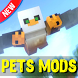 Pets mods for Minecraft by Nuleomkum Jumtpeolat