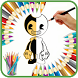 Bendy Coloring by How to draw apps