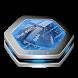 Blue elastic net Keyboard Art by Cool emojis keyboards