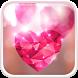Diamond Hearts Live Wallpaper by Live Wallpaper HQ