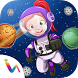 Astronaut Space Girl DressUp by himanshu shah
