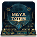 Maya totem magic games keyboard theme by COOL THEME