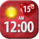 Love Clock Weather Widget by Super Widgets