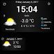 Weather & Clock Widget by Vladimír Bučko