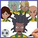 How to draw Inazuma Eleven - Kingdom by Draw and enjoy