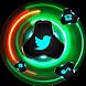 Magic Neon Fidget Spinner Theme by Theme Creativity Designer