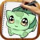 Draw Pokemons by Happy Drawings Games