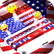 American Flag Emoji Keyboard by Theme Lovely