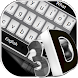 3D Simple Black Keyboard Theme by Keyboard Design Yimo