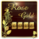 Gold Rose Keyboard Theme by Echo Keyboard Theme