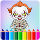 How To Color Pennywise IT by AdamStudios