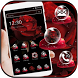 Red Rose Petal Theme for Launcher by Beauty Die Marker