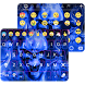 Flaming Skull Emoji Keyboard by Color Emoji Keyboard Studio
