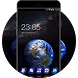 Earth in Space Wallpapers HD: Amazing Galaxy Theme by Cool Theme Workshop