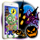 Halloween Scary Spooky Pumpkin Theme by Theme Creative Center