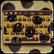 Cheetah Fur Keyboard Theme by Super Cool Keyboard Theme