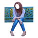 Hijab Selfie - Blue Jeans by Somi
