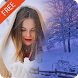 Snowfall Photo Frames by Photo Collage Developer