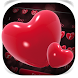 Red Heart Keyboard Theme by Keyboard Design Paradise
