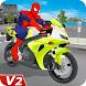 Superhero Bike Racing: Stunts Games by ALPHA Games Studio