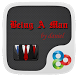 Being A Man GO Launcher Theme by Freedom Design
