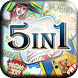 5 Fun Tripeaks Solitaire Games by Happy Planet Games