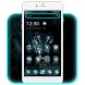 Icy ferocious Wolf Theme by stylish android themes