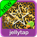 Gold Black Leopard Star Theme by Jellytap