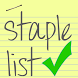 Staple List by KDenney