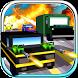Blocky Road Blaster - Gun Race by Black Chilli Games - Free 3d Car Racing & Shooting