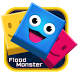 Flood Monster-Color Puzzle Game-Monument Valley by Better Weather Widget Monster Team