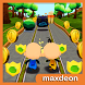 Subway Upin Dash Ipin by Maxdeon