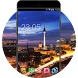 Neon Night Cityscape HD Theme for Galaxy J1 by Mobo Theme Apps Team
