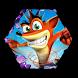 Bandicoot Crash Adventure by App-universe
