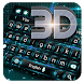 3D Tech Hologram Keyboard by Keyboard Theme Factory