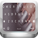 Silver Gold Keyboard Theme by salmahelmy