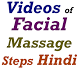 Facial Massage Steps in Hindi by Maza Apps