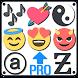 Symbols, emojis, letters, nicknames, text arts PRO by Dricodes