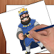 How To Draw Clash Royale by FunForKids inc