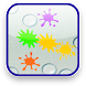 Kids Color Paint Splat Bubbles by Serna Game Studios