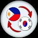 Filipino Korean Translate by xw infotec