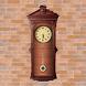 Pendulum Clock - Vintage Clock by Doron Harel