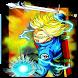Trunks Saiyan Warrior Kameha Anime Battle Game by Dev 2017