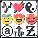 Symbols, emojis, letters, nicknames, text arts by Dricodes