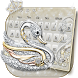 Silver Swan Keyboard Theme by Super Cool Keyboard Theme