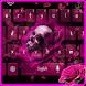Gothic Rose Skull Theme by M Typewriter Theme Studio
