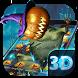 3D Horror Halloween Pumpkin Skin Theme by Bestheme Theme Studio HD wallpaper& icons